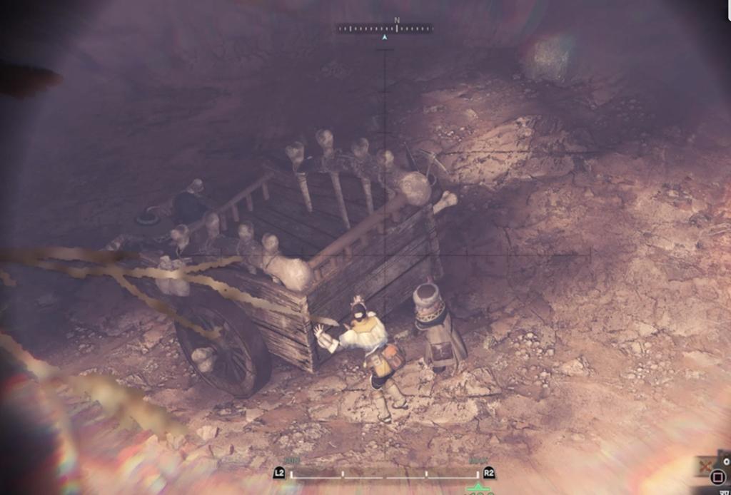 大蟻塚の高台からの景色